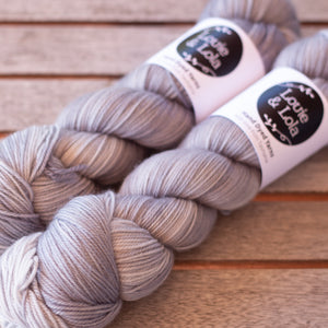 Lola 4 Ply Sock - Silver Birch