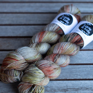 BFL Nylon Fingering - Fall Vibes