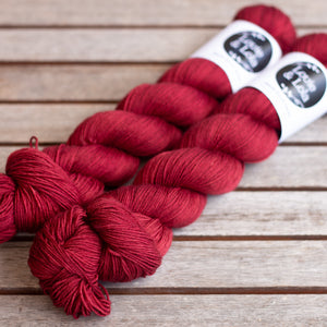 Merino Nylon Sock - Retro Red