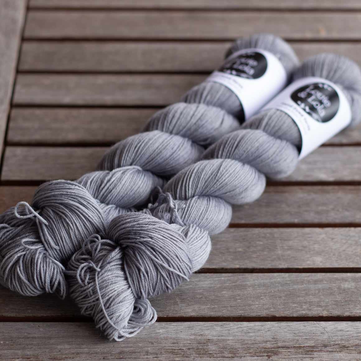 Merino Nylon Sock - Silver Birch