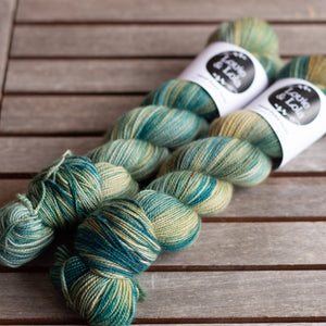 BFL Nylon Fingering - Fresh Fields