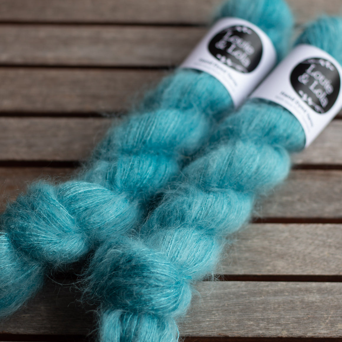 Mohair Silk Lace - Teal
