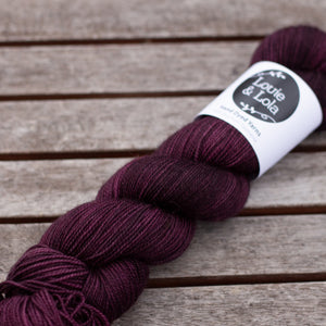 BFL Nylon Fingering - Bramble