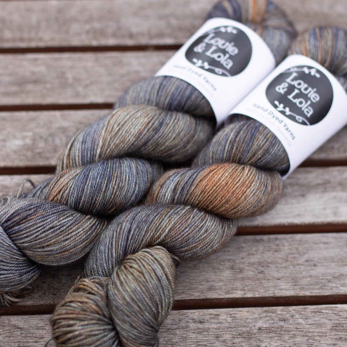 Merino Silk Yak Fingering - Ash Tree