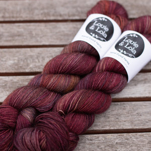 Merino Silk Yak Fingering - Flying Fish