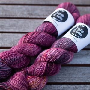BFL Nylon Fingering - Warm Hug