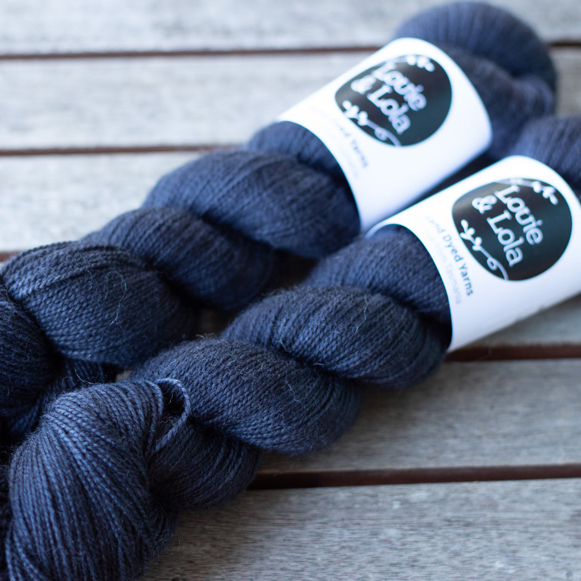 BFL Nylon Fingering - The Blues