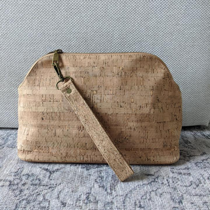 Thread & Maple - Cork Project Bag with Strap