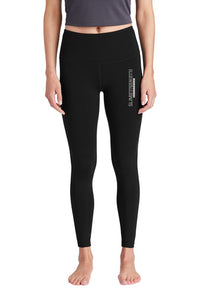 SS Branded High Rise Legging - SlimStrength ActiveWear - Apparel with Purpose