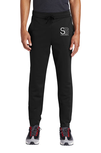 SS Branded Fleece Jogger - SlimStrength ActiveWear - Apparel with Purpose
