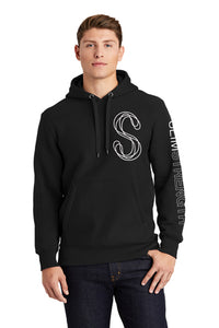 SS Branded Fleece Hooded Pullover - SlimStrength ActiveWear - Apparel with Purpose