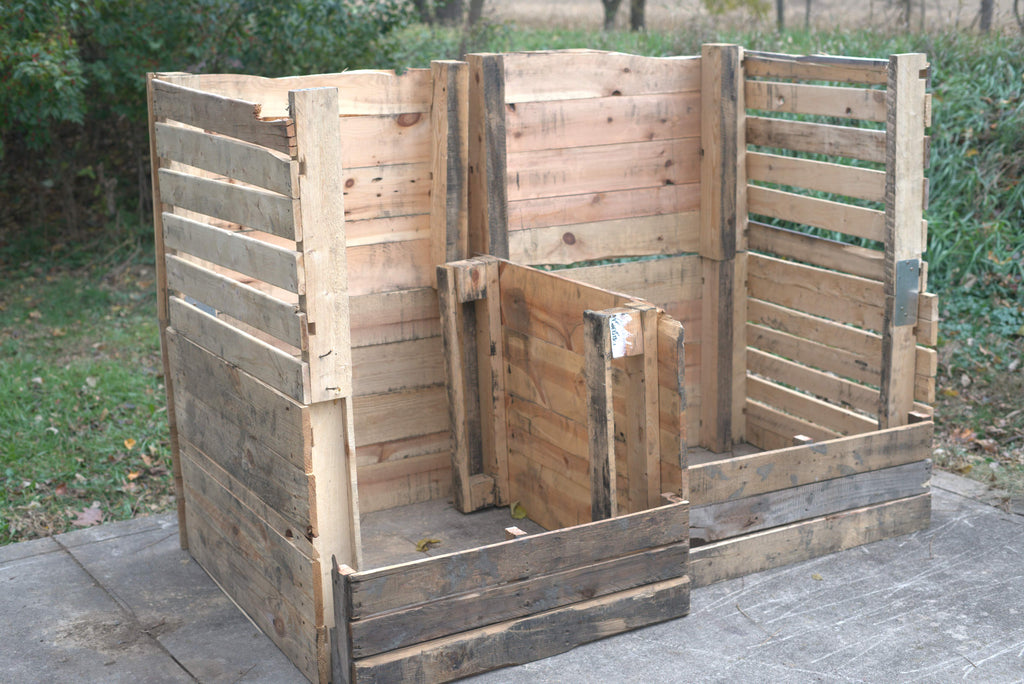 how to make a pallet composter
