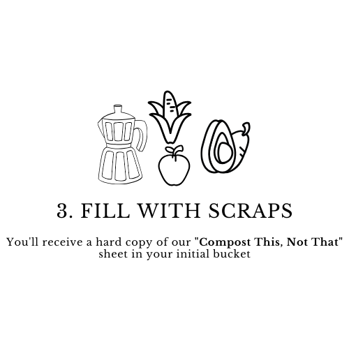fill with scraps