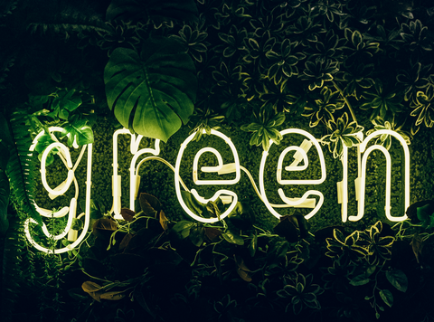 green, reduce then reuse and then recycle
