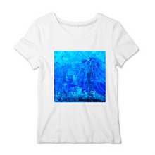 Charger l'image dans la galerie, Collection Ji Loon - Blue Montain - T-SHIRT FEMME 100% COTON