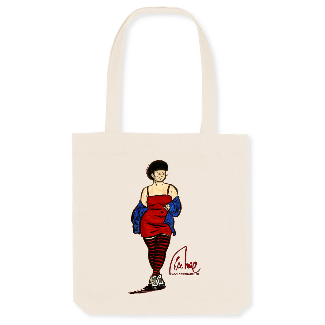 Collection Eric Mie - La pomme à Mie - 1 - TOTEBAG - COTON BIO