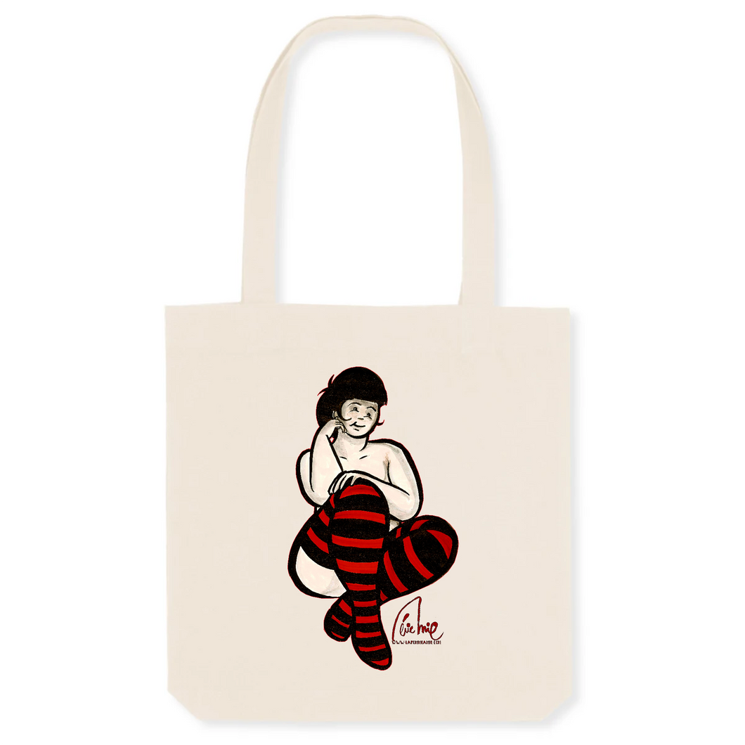 Collection Eric Mie - La pomme à Mie - 6 - TOTEBAG - COTON BIO