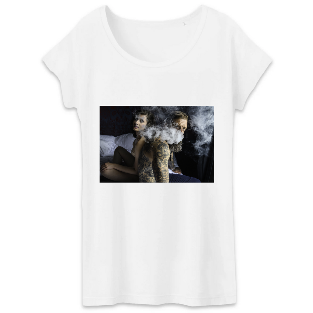 Collection Harold Hermann - 3 - T-SHIRT FEMME 100% COTON BIO - TW043