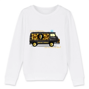 Collection Nordine le Nordec - Estafette V2 par Sam Di Lorenzo - SWEAT-SHIRT ENFANT BIO - MINI CHANGER