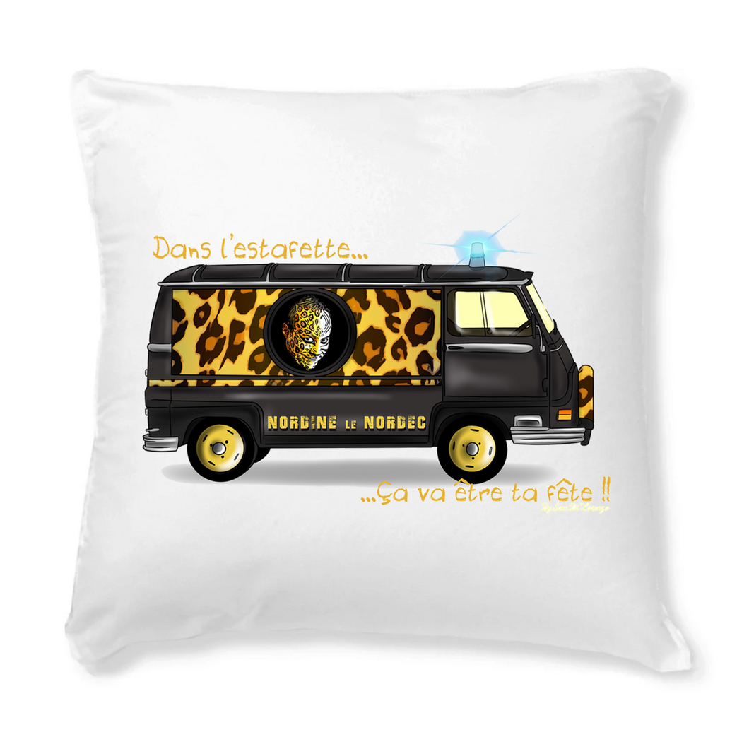 Collection Nordine le Nordec - Estafette V2 par Sam Di Lorenzo - COUSSIN + HOUSSE