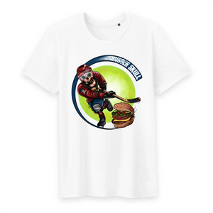 Collection Le comics'Art de Sam - Slap shot ! - T-SHIRT HOMME COL ROND - 100% COTON BIO - TM042