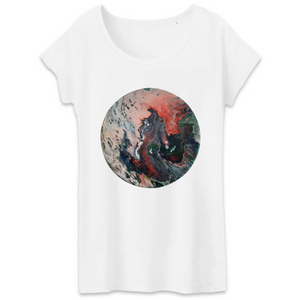 Collection Ji Loon - El Dragon - T-SHIRT FEMME 100% COTON BIO - TW043