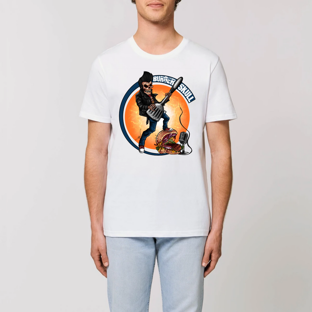 Collection Le comics'Art de Sam - The Burger song - ROCKER - T-SHIRT UNISEXE