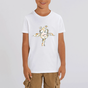 Collection Katyka - Girafe - T-SHIRT ENFANT - COTON BIO - MINI CREATOR