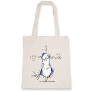 Collection Katyk - Pigeon - TOTEBAG - 100% COTON BIO
