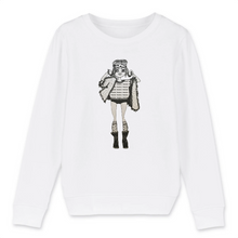 Charger l'image dans la galerie, Collection Benjo - Fragile - SWEAT-SHIRT ENFANT BIO - MINI CHANGER
