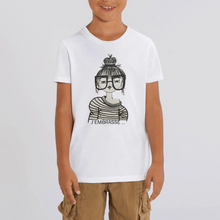 Charger l'image dans la galerie, Collection Benjo - J'embrasse - T-SHIRT ENFANT - COTON BIO - MINI CREATOR