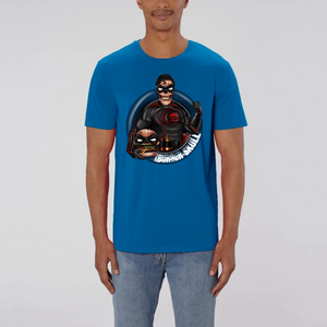 Collection Le comics'Art de Sam - Burger Skullman - T-SHIRT UNISEXE - COTON BIO - CREATOR