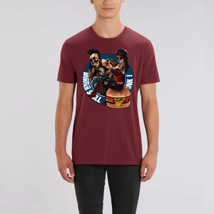 Collection Le comics'Art de Sam - The Burger Tattoo - ROCKER - T-SHIRT UNISEXE