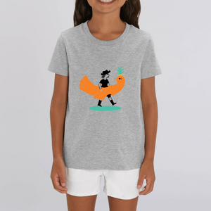 Collection - Sandra Poirotte - monOiseau - T-SHIRT ENFANT - COTON BIO - MINI CREATOR
