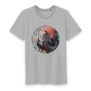 Collection Ji Loon - El Dragon - T-SHIRT HOMME COL ROND - 100% COTON BIO - TM042