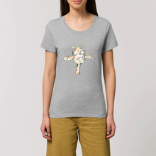 Charger l'image dans la galerie, Collection Katyka - Girafe - T-SHIRT FEMME 100% COTON BIO - EXPRESSER