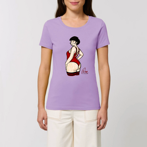 Collection Eric mie - La pomme à Mie - 4 - T-SHIRT FEMME 100% COTON BIO - EXPRESSER