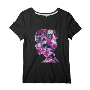 Collection Ji Loon - Pink Lady - T-SHIRT FEMME 100% COTON