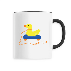 Collection Sandra Poirotte - monCanard - MUG CÉRAMIQUE