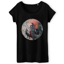 Charger l'image dans la galerie, Collection Ji Loon - El Dragon - T-SHIRT FEMME 100% COTON BIO - TW043