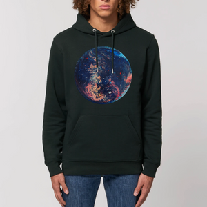 Collection Ji Loon - Space - SWEAT À CAPUCHE BIO UNISEXE - CRUISER
