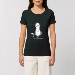 Collection Katyk - Pigeon - T-SHIRT FEMME 100% COTON BIO - EXPRESSER