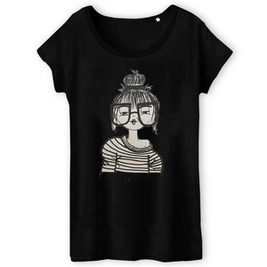 Collection Benjo - J'embrasse - T-SHIRT FEMME 100% COTON BIO - TW043