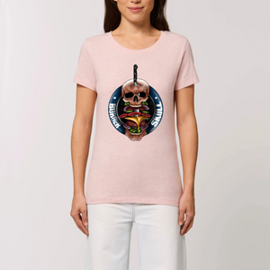 Collection Le comics'Art de Sam - The Skewer - T-SHIRT FEMME 100% COTON BIO - EXPRESSER