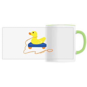 Collection Sandra Poirotte - monCanard - MUG CÉRAMIQUE - IMPRESSION PANORAMIQUE