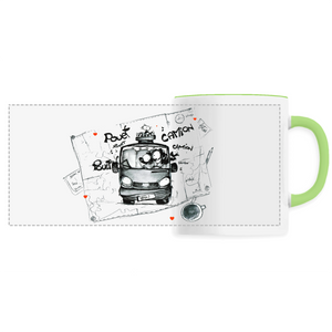 Collection Katyk - Trafic - MUG CÉRAMIQUE - IMPRESSION PANORAMIQUE
