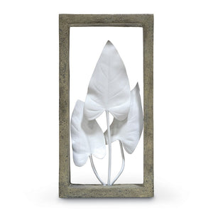 Anthurium Leaves Shadow Box