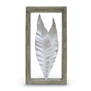 Dracaena Leaves Shadow Box