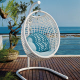 Load image into Gallery viewer, Dynasty Small Hanging Chair with Stand