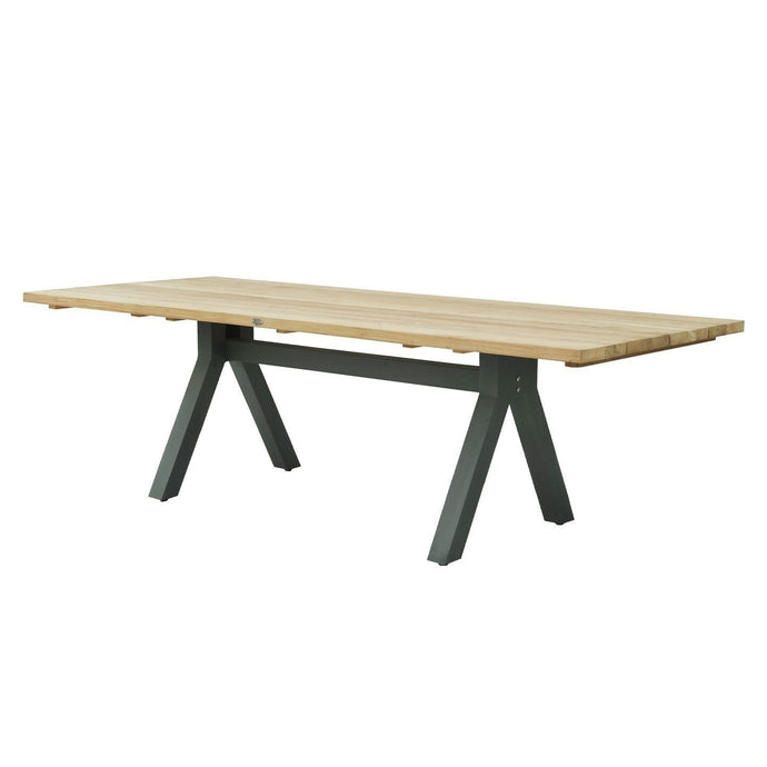 Alaska Rectangular Dining Table Small - Carbon Matte